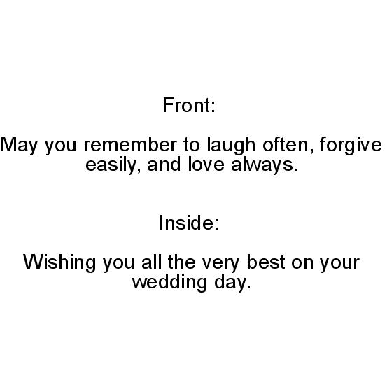 greeting card - Wedding Day Wishes by Andrea G. Heffner