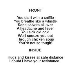 Ode to your cold