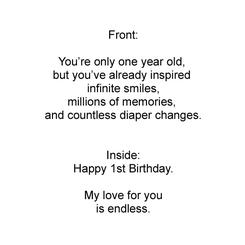 First Birthday - So Many Smiles