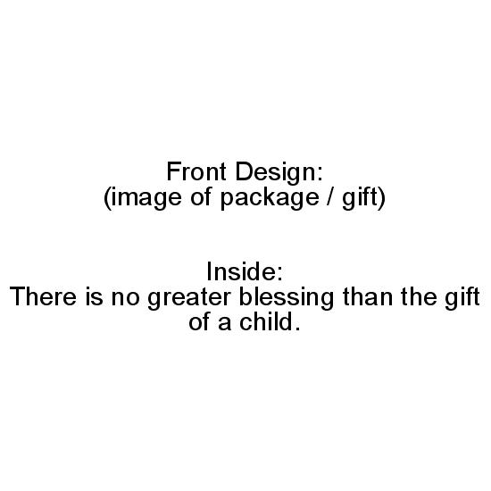 greeting card - No Greater Gift by Erin Matzen