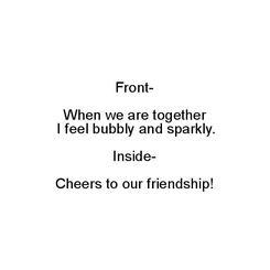 Bubbly Friend