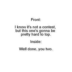 Pretty Hard to Top