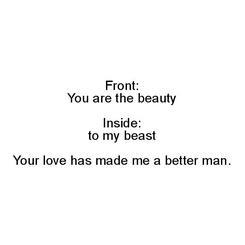 Beauty to Beast 2