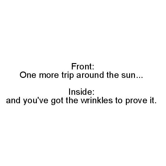greeting card - A trip around the sun by Nicole Ido