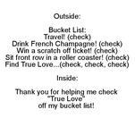 Bucket List 2 by Alexandra Bader