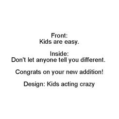 Kids Are Easy