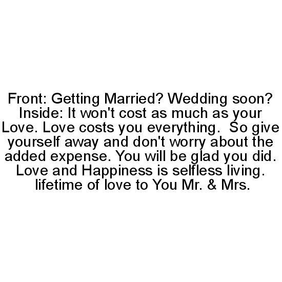 greeting card - Love is Expensive by Joyfuldesignsklmr