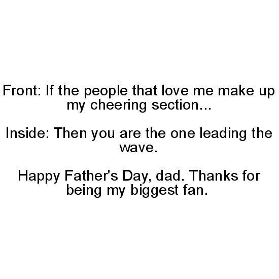 greeting card - Fanfare Father by Molly Greenfield