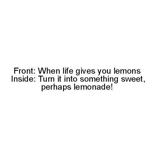 greeting card - lemonade by Marissa Cunnyngham