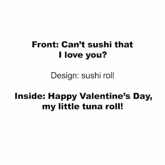 greeting card - Sushi by Taylour Kumpf