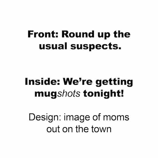greeting card - Mugshots by Taylour Kumpf