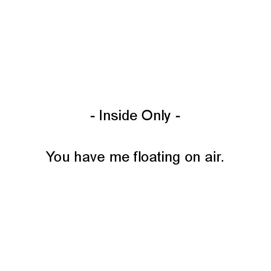 greeting card - You Have Me Floating on Air by Aure