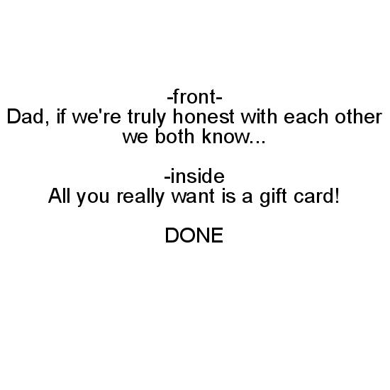 greeting card - Truly Honest by Cara Trautman