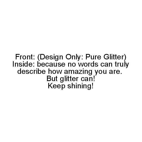 greeting card - Keep Shining! by Caitlin Ultimo