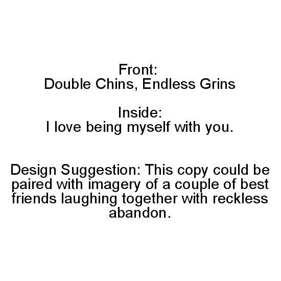 greeting card - Double Chins and Endless Grins by Sweet Marie Creative