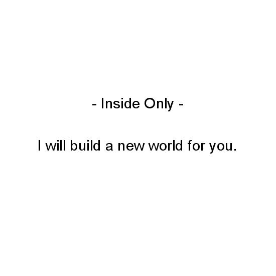 greeting card - I Will Build a New World for You by Crich