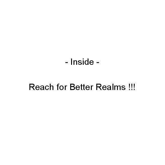 greeting card - Reach for Better Realms by Crich