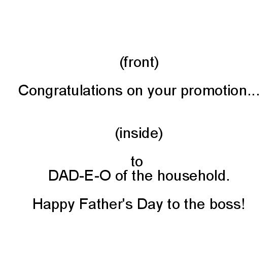 greeting card - DAD-E-O Promotion by Politesse Studio