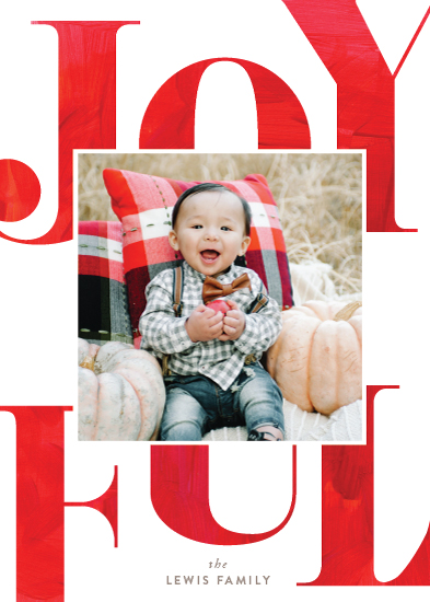 holiday photo cards - Fanfare by Carrie ONeal