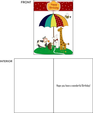 greeting card - Happy Birthday by Nitika Trichal