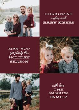 Christmas Wishes & Baby Kisses