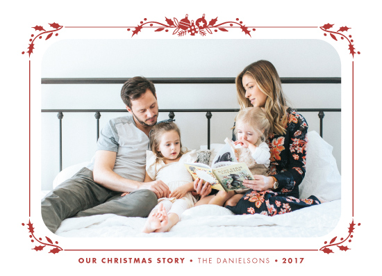 holiday photo cards - Our Story by CaroleeXpressions