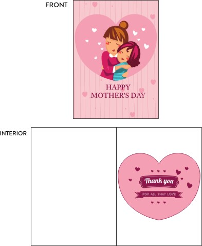 greeting card - Mother's Love by Nitika Trichal