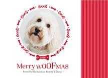 Merry Woofmas! by Alicia Tosky