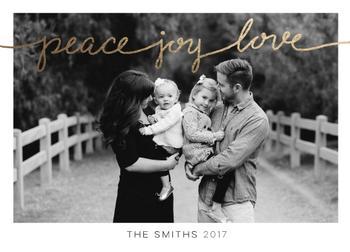 Peace, Joy, Love