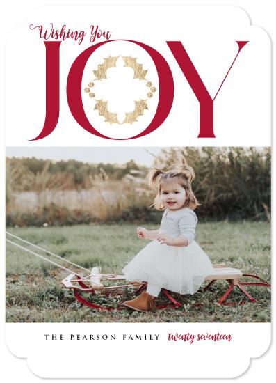 holiday photo cards - Joy Rider Wishing by Tresa Meyer-Clark