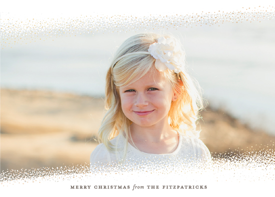 holiday photo cards - Christmas Flurries by Sarah Guse Brown