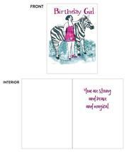 Birthday Girl, Zebra by Laura Gajewski