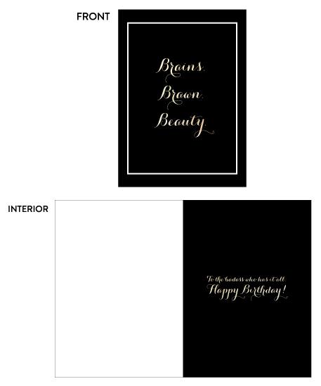 greeting card - Badass Birthday by Designs by Aili