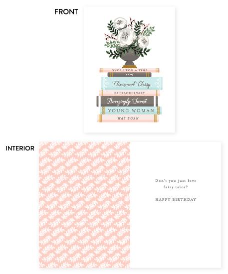 greeting card - Fairy Tale Birthday by Lehan Veenker