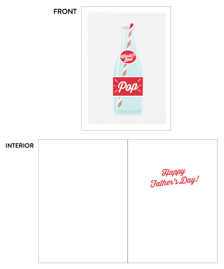 greeting card - World's Best Pop by Itsy Belle Studio