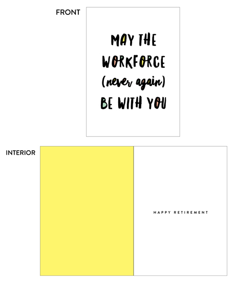 greeting card - Workforce by Erica Krystek