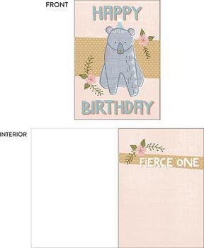 Fierce Girl Birthday