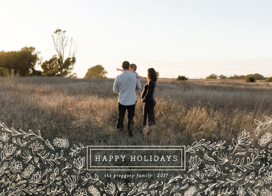 holiday photo cards - everything happy by heythird