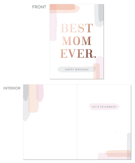greeting card - Best Mom Ever. by Hooray Creative