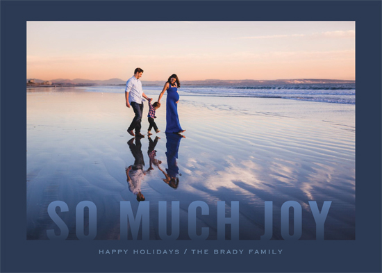 holiday photo cards - Bold and Blue by Gray Star Design