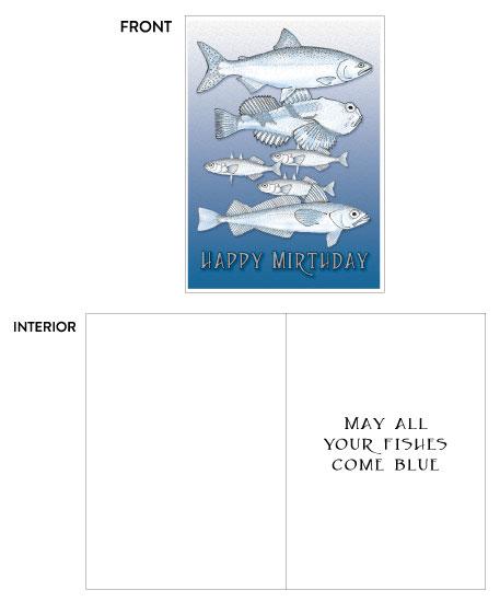 greeting card - Mirthday by Sheri C. Hall