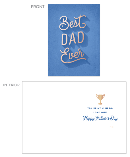 greeting card - Best Type of Dad by Hooray Creative