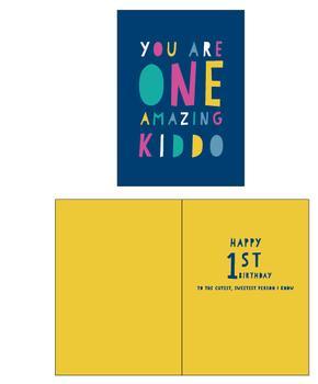 ONE Amazing Kid Birthday