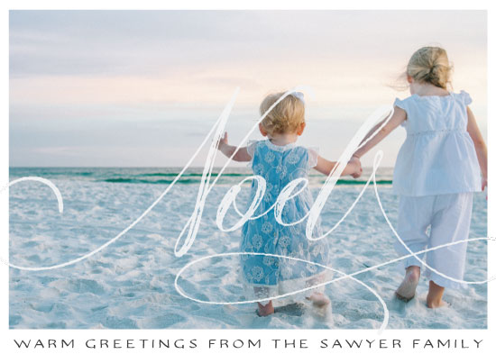 holiday photo cards - Striking Noel by Moxie