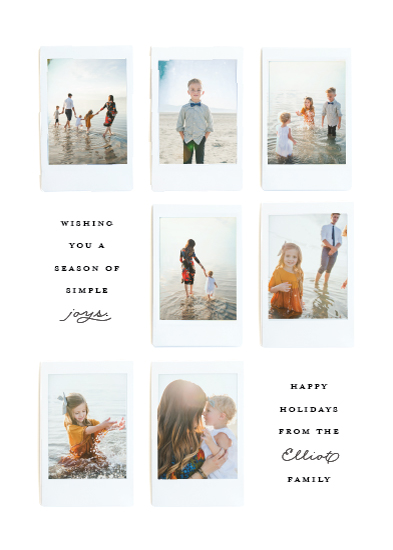 holiday photo cards - Instant Gallery by Olivia Kanaley