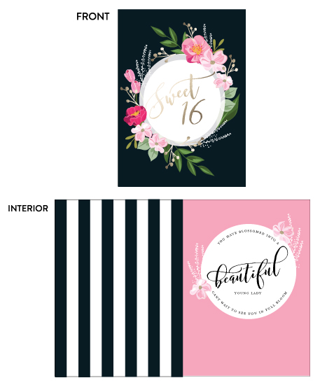 greeting card - Blossom by Susan Moyal