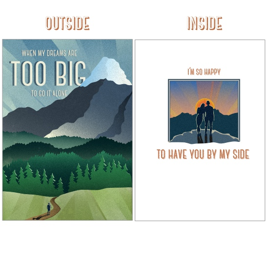 greeting card - Big Adventure by Avian by Design