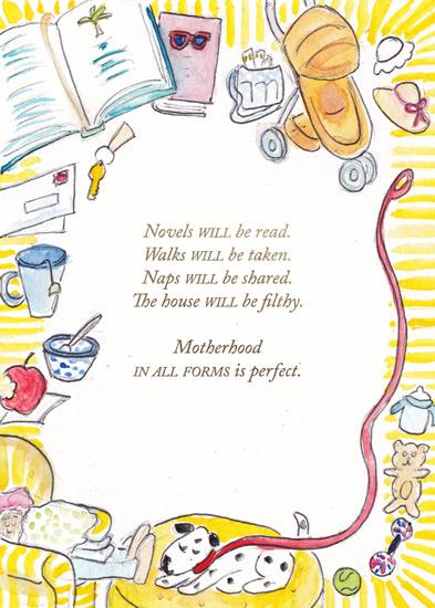 greeting card - Novels Will Be Read by Laura Ann Trimble Elbogen