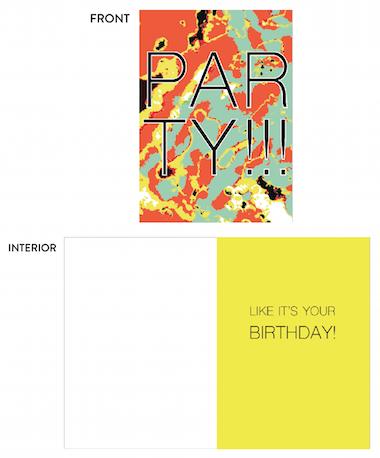 greeting card - rugged birthday by lulablu