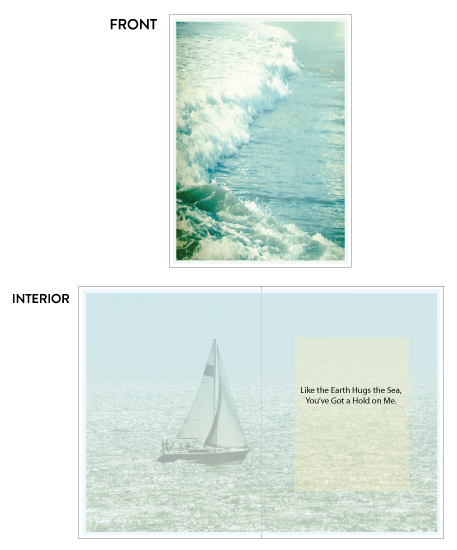 greeting card - Sea You Sea Me by Aure